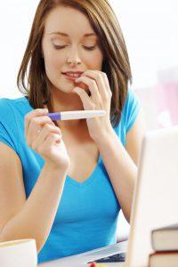 Электронный тест на беременность фото инструкция