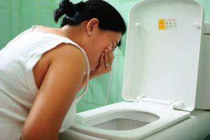 Симптомом беременности на раннеи сроке может быть токсикоз