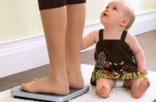 Многие женщины желают быстро похудеть после родов