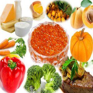 При беременности можно черапть витамин А из продуктов питания