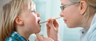 Аденоидит у детей возникает из-за воспаления глоточной миндалины