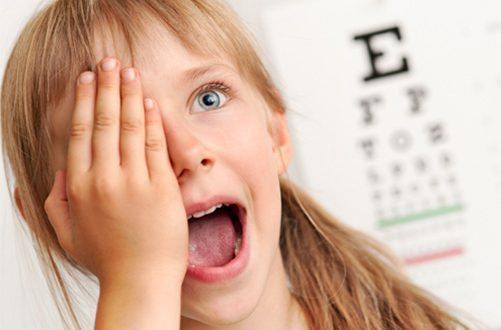 Астигматизм у детей необходимо лечить