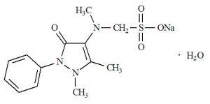 В состав анальгина входит вещество, имеющее высокую токсичность