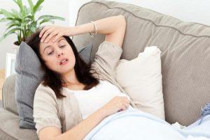 Повышенная температура и головная боль при беременности