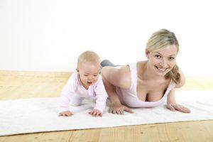 Зарядка для женщин после родов