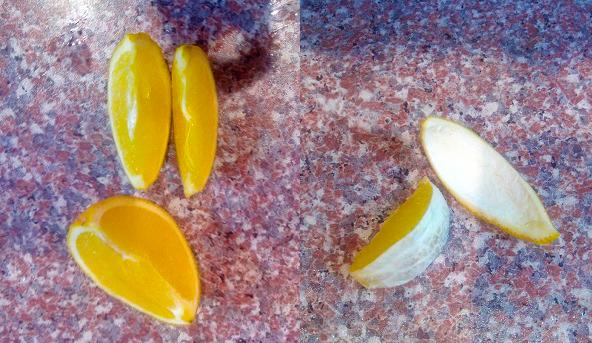 Апельсиновые корки фото 2