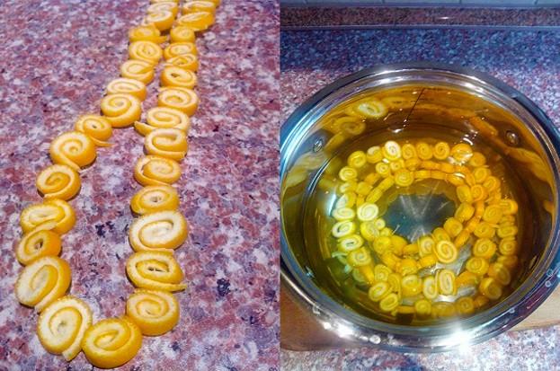 Апельсиновые корки фото 4