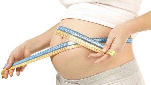 Резкий набор веса при беременности