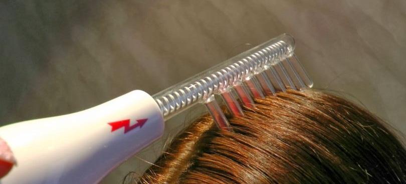 Дарсонвализация - эффективный метод борьбы с выпадением волос