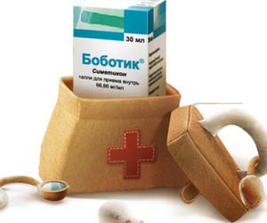 Упаковка Боботика в аптечке
