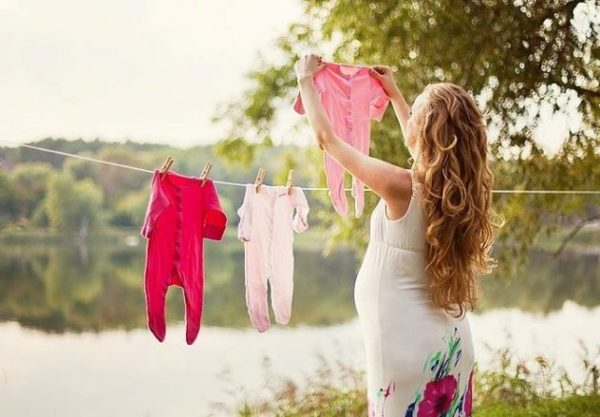 Вешать белье