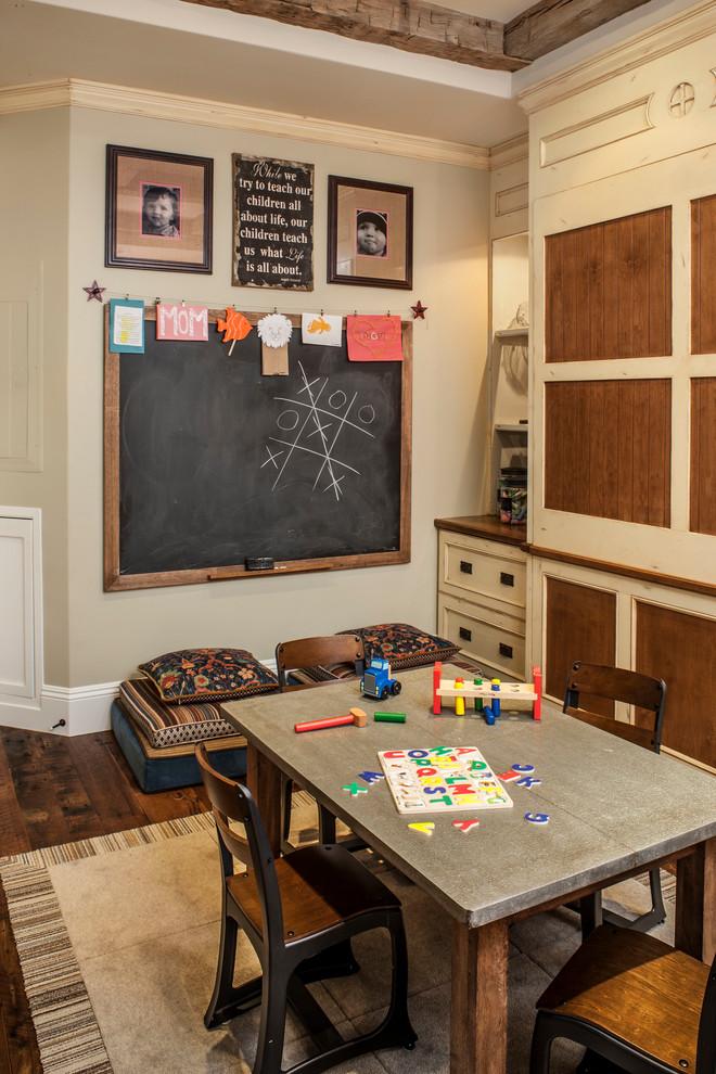 Рабочая зона в детской комнаты