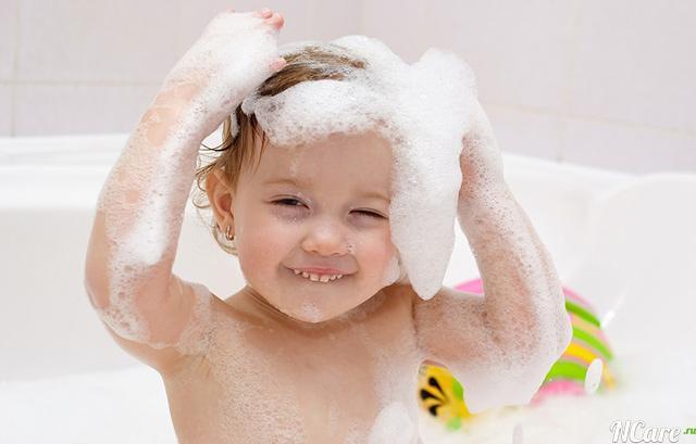 шампуни для детей