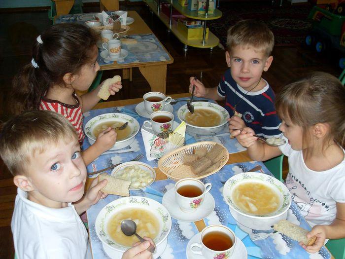 Разработка меню питания в детском саду