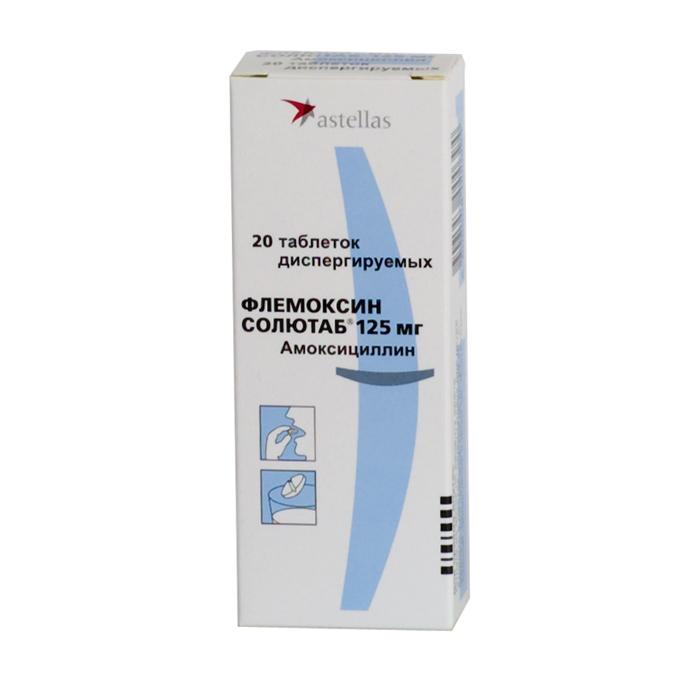 Флемоклав 500 мг инструкция по применению