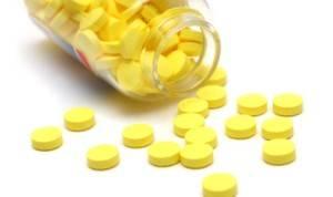 Желтые таблетки средства