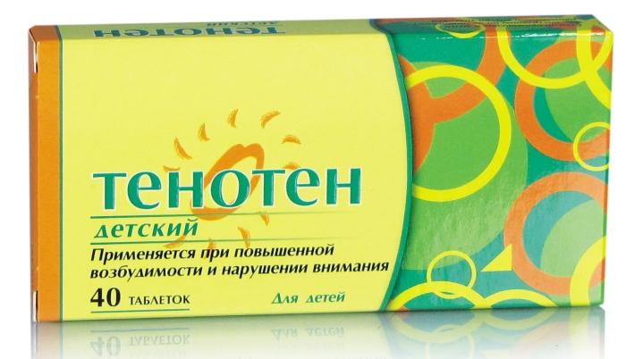 Детский Тенотен 40 таблеток