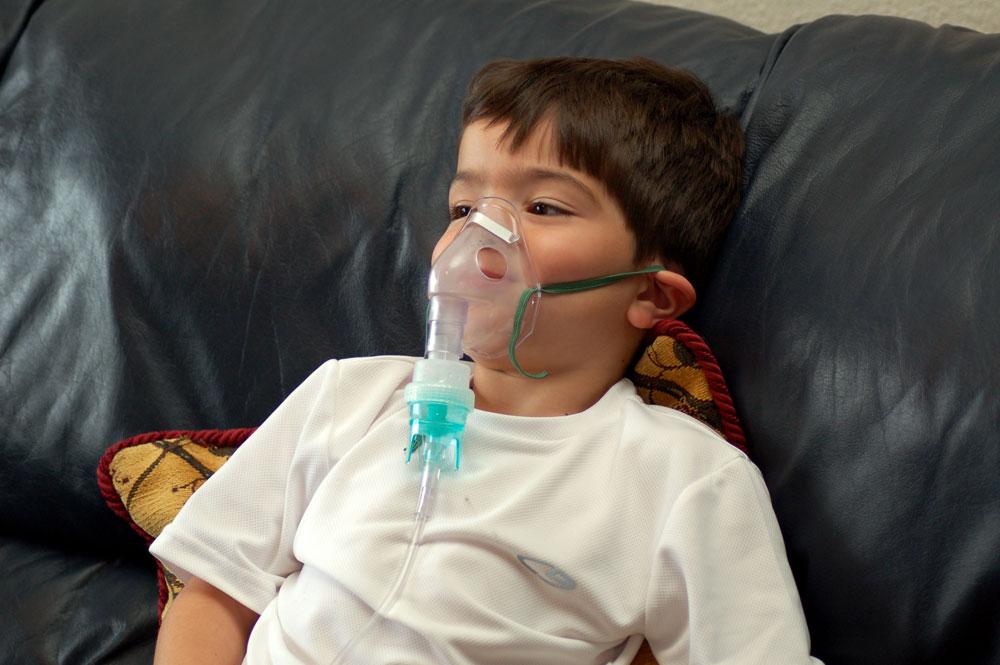 Ингаляции небулайзером при кашле и насморке