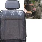 Правила использования накидки на сиденье автомобиля от грязных ног ребенка