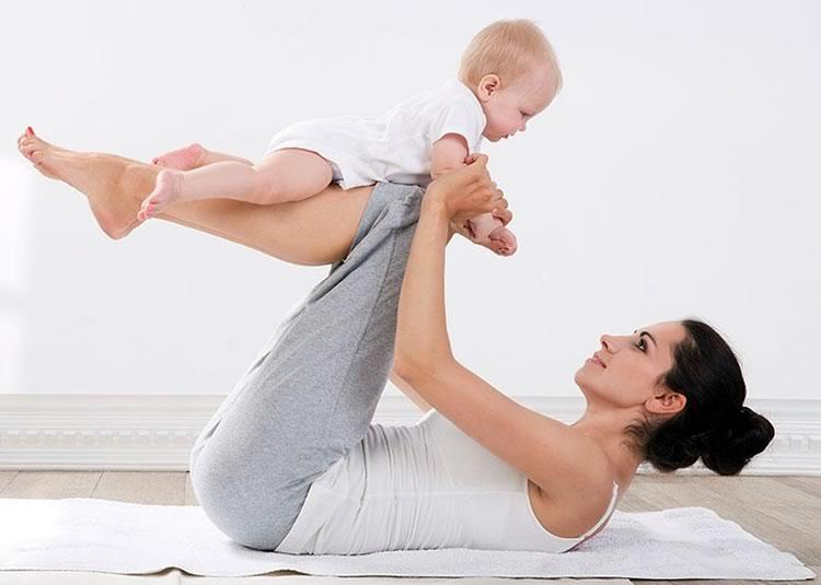 Физкультура с малышом