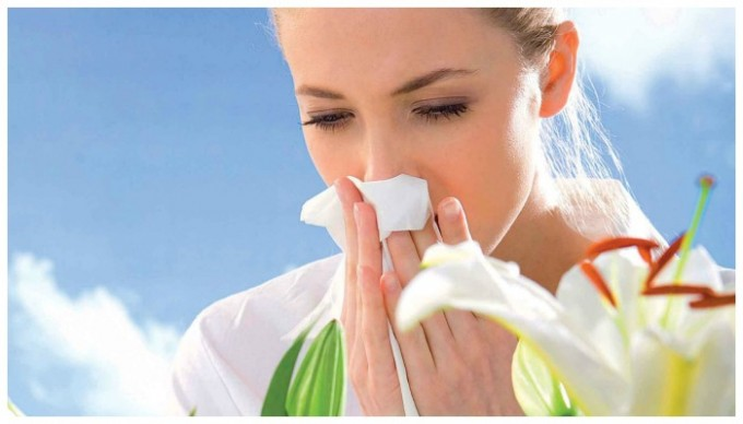 Отек слизистой носа вызван аллергенами