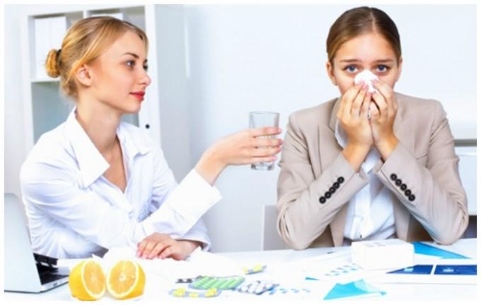Отек носа на фоне вирусных или инфекционных заболеваний