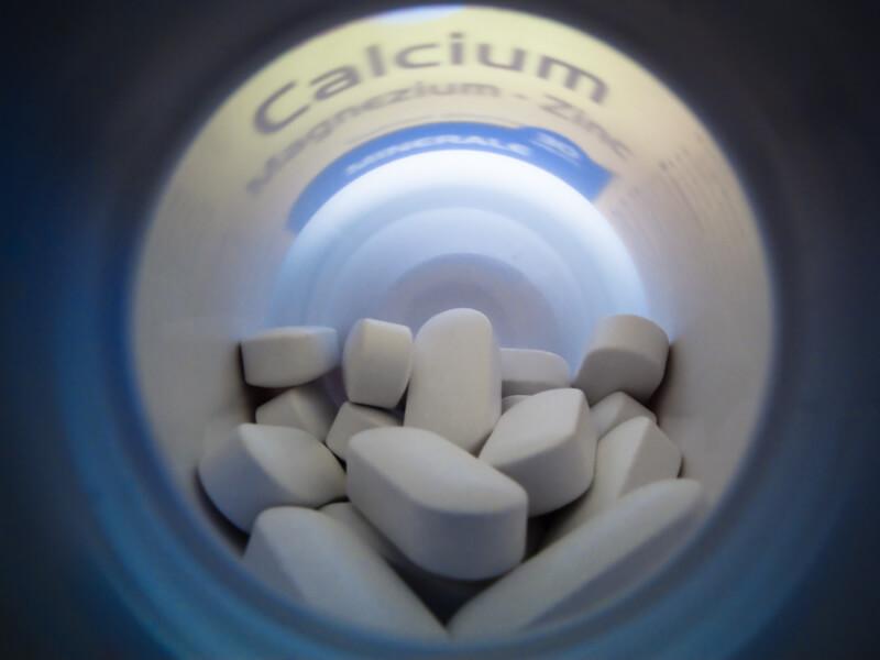 Кальций в таблетках
