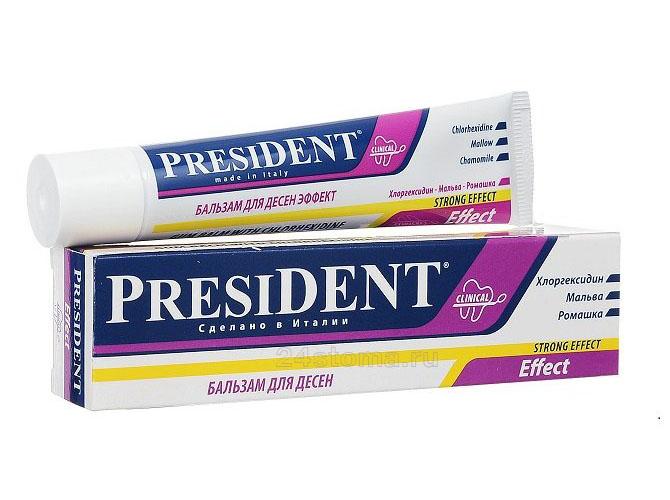 Бальзам для десен PRESIDENT Effect