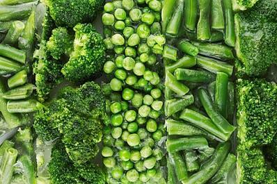 Зеленые овощи на кето диете