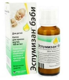 от коликов у новорожденных лекарство
