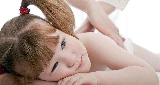 Детский массаж при сколиозе