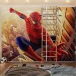 Фотообои с любимыми героями для детской комнаты для мальчика