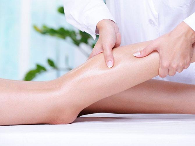 отечность ног после родов массаж ног