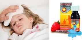 Сироп Нурофен для детей: подробная инструкция по применению