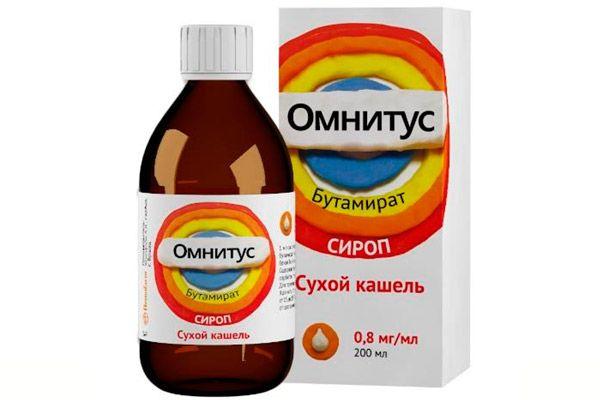 Как принимать сироп Омнитус: инструкция по применению