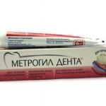 Метрогил дента: показания и инструкция по применению для детей