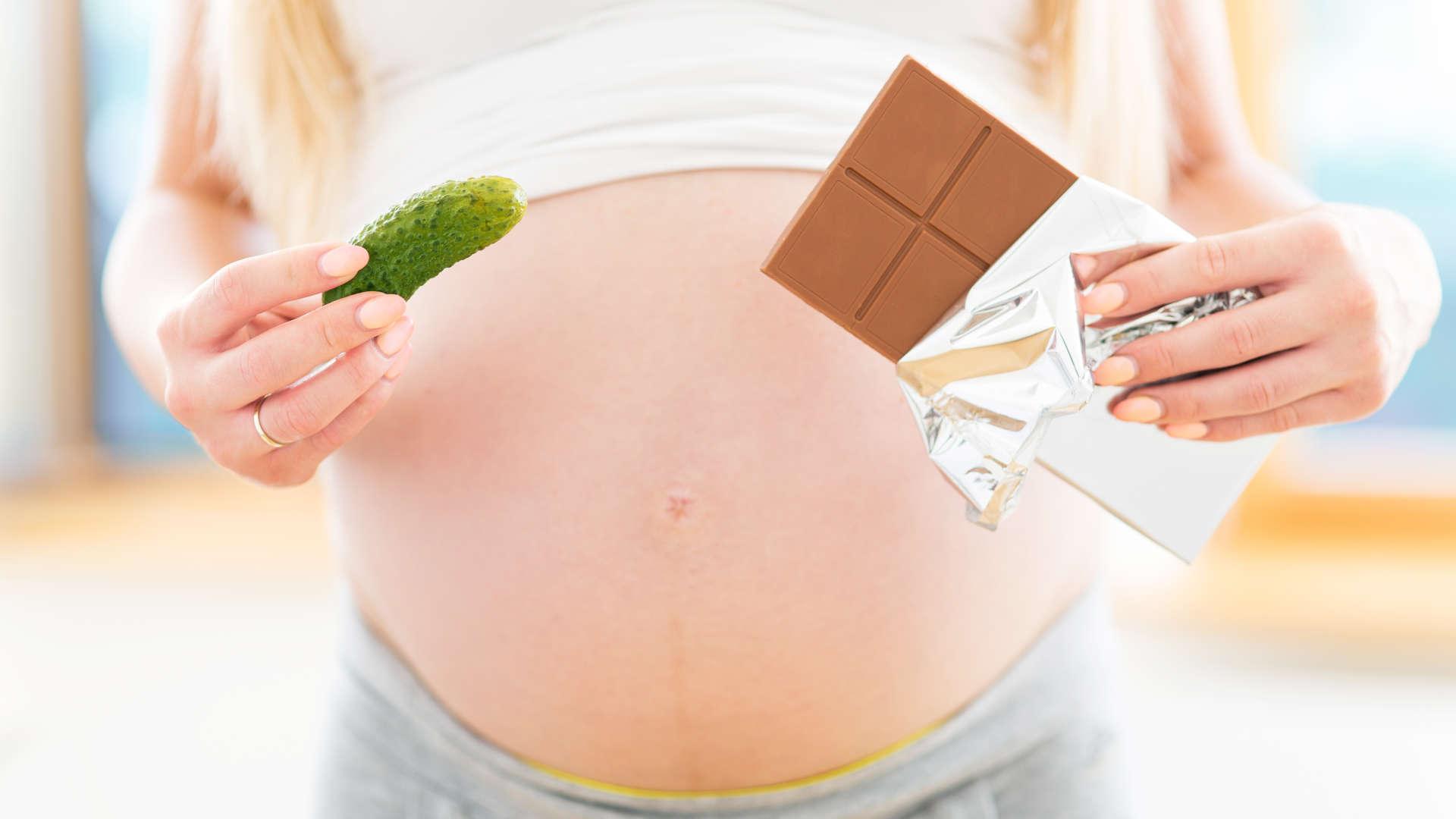 Употребление шоколада во время беременности