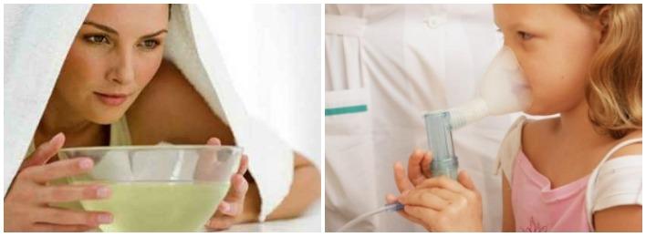 Ингаляции от приступа кашля