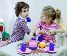 Девочки не могут поделить игрушку