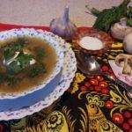Грибной суп — рецепт из свежих шампиньонов