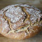 Хлеб ржано-пшеничный формовой в духовке
