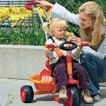 велосипеды трехколесные детские с ручкой