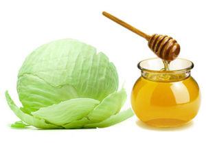 Лечение капустой и медом