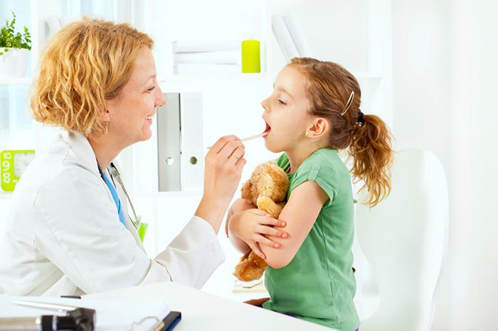 диагностирование горла