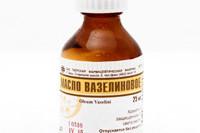 баночка с вазелиновым маслом