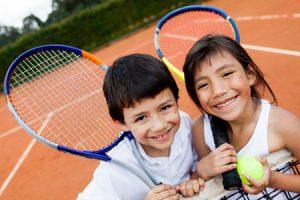 Большой теннис для детей 4 лет
