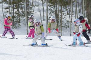 Лыжи или сноуборд с 4 лет