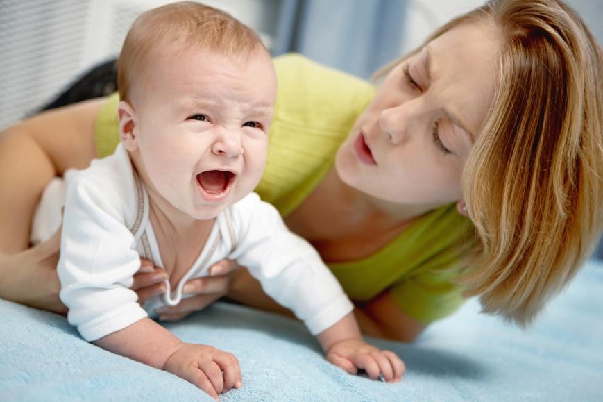 Боли при поносе у новорожденного