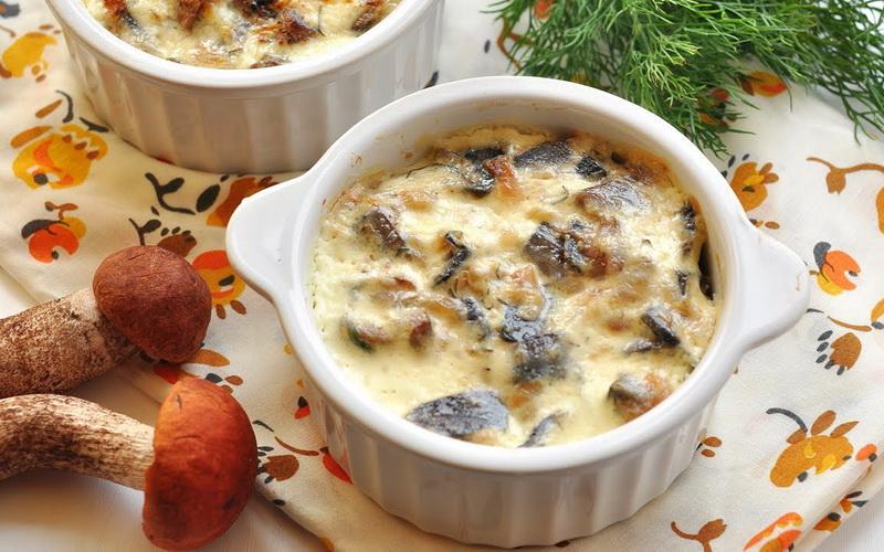 Готовим в горшочках грибной суп фото