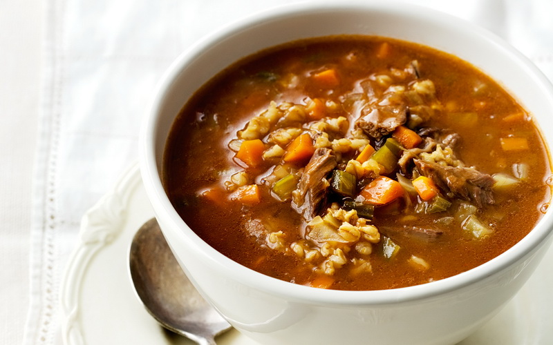 Рецепты вкусных супов с мясом в горшочках фото